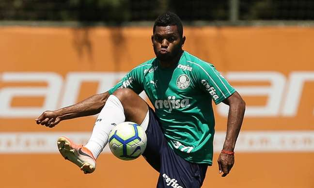 Borja retornou ao Palmeiras, mas pode ser emprestado novamente (Foto: Agência Palmeiras/Divulgação)