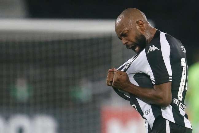Em pouco tempo, Chay conquistou a artilharia do time e o carinho da torcida do Botafogo (Foto: Vítor Silva/Botafogo)