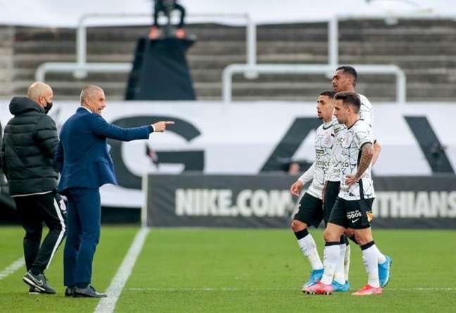 Corinthians teve uma atuação muito ruim contra o Flamengo (Foto: Rodrigo Coca/Ag. Corinthians)