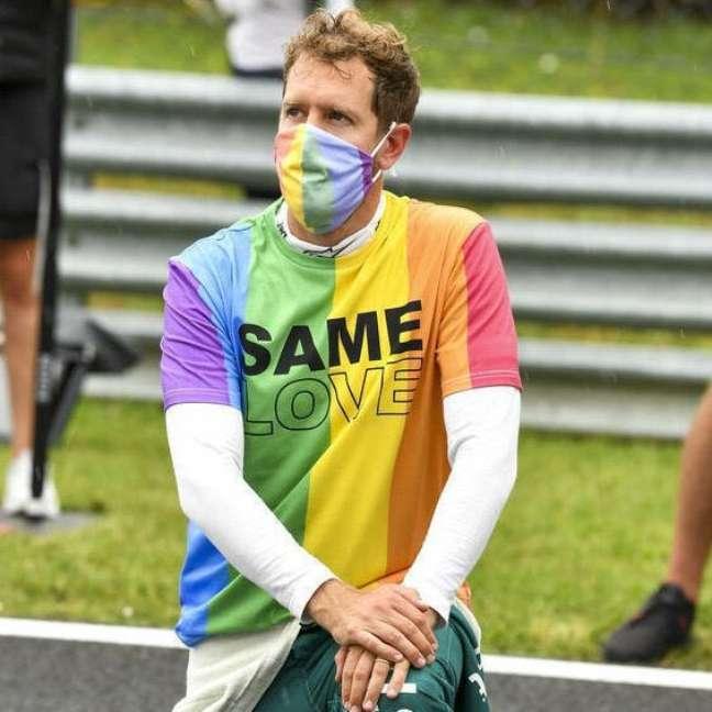 Sebastian Vettel é a tradução do amor em tempos de intolerância e preconceito