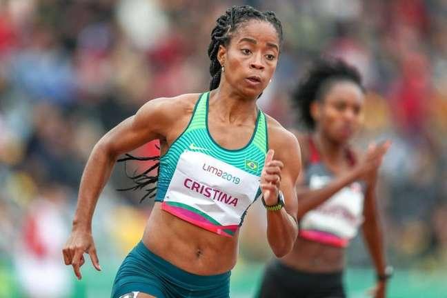 Vitória Rosa não fez boa prova e está fora das finais dos 200m rasos (Wagner Carmo/Panamerica Press/CBAt)
