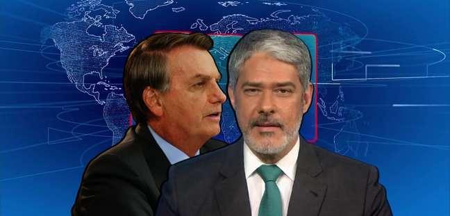 Bonner ignora as provocações de Bolsonaro (e também as de Lula) para um acerto de contas na bancada do 'JN'