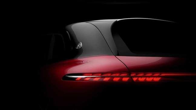 Conceito Mercedes-Maybach EQS SUV será revelado em setembro.