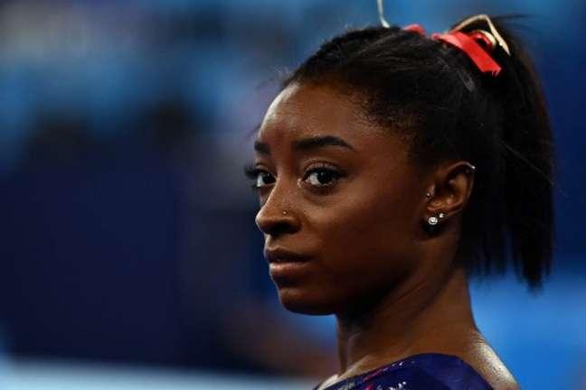 Simone Biles é a principal ginasta dos Estados Unidos (Foto: LOIC VENANCE / AFP)