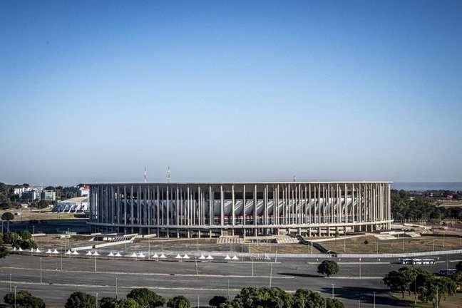 Estádio Mané Garrincha, em Brasília, será palco de Flamengo e Olímpia (Foto: Alexandre Vidal/Flamengo)