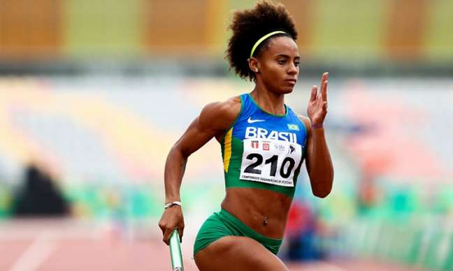 Tiffani Marinho não conseguiu classificação para a semifinal dos 400m rasos feminino (CBAt)