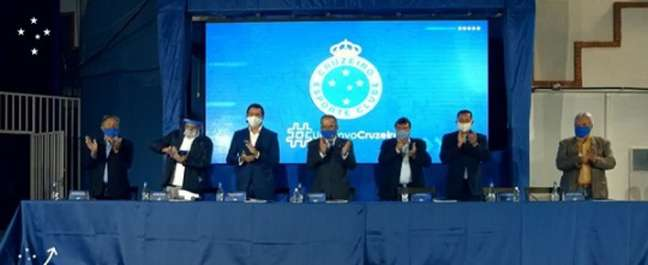 Conselho do Cruzeiro vai decidir o futuro do clube com a votação da mudança para clube-empresa-(Reprodução/Cruzeiro)