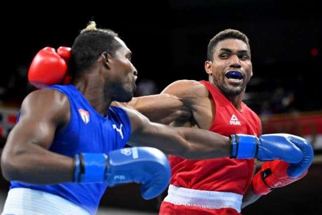 Abner Teixeira conquistou o bronze na Olimpíada de Tóquio (Foto: LUIS ROBAYO / POOL / AFP)