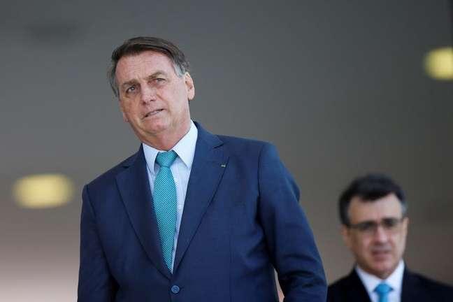 Presidente Jair Bolsonaro em Brasília 30/07/2021 REUTERS/Adriano Machado