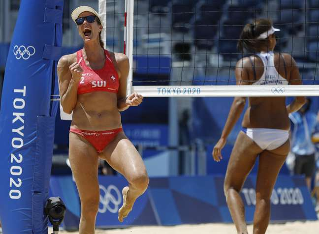 Joana Heidrich irritou os torcedores brasileiros