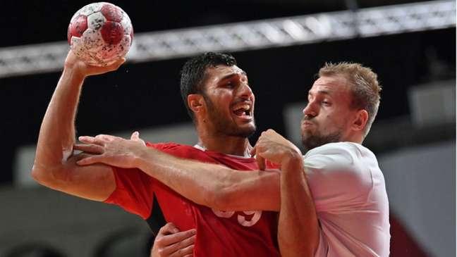 Egito derrota a Alemanha e está na semifinal dos Jogos Olímpicos de Tóquio (Foto: Fabrice Coffrini / AFP)