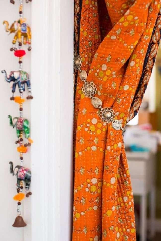 36. Estampas e objetos que fazem toda a diferença na decoração indiana. Fonte: Pinterest