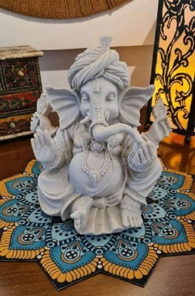12. Ganesha: Modelo de elefante indiano decoração. Fonte: Alma Livre Store