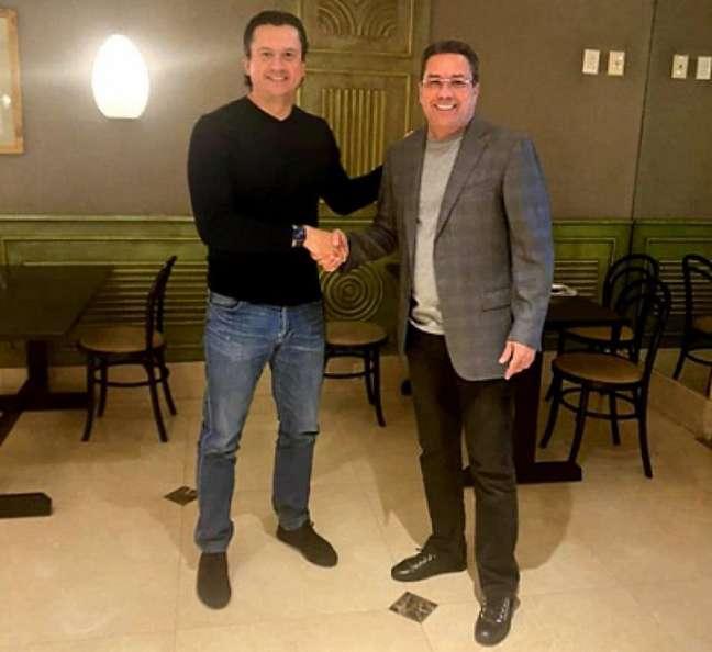 Luxemburgo será o sexto técnico da gestão de Sérgio Santos Rodrigues-(Divulgação/Cruzeiro)