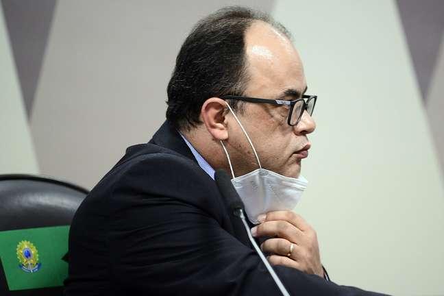 O reverendo Amilton Gomes de Paula na CPI da Covid
