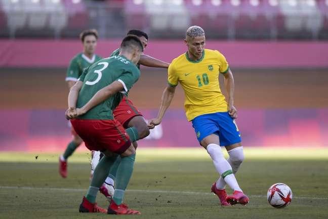 Camisa 10 reconheceu que classificação foi sofrida (Lucas Figueiredo/CBF)