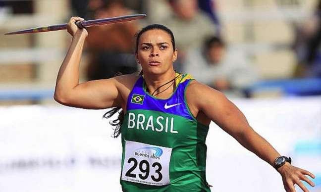 Laila Ferrer não conseguiu classificação à final do lançemento de (Wagner Carmo/CBAt)