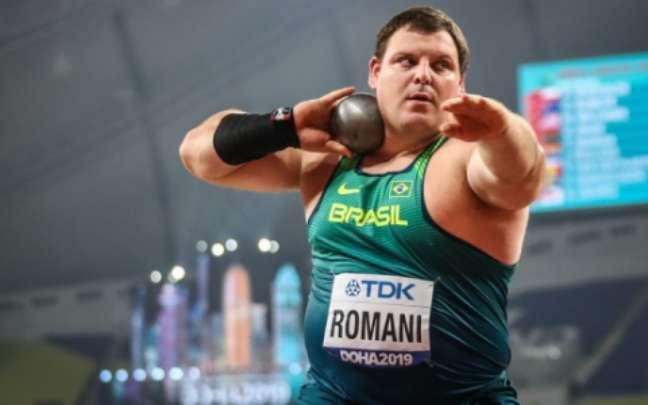 Darlan Romani vai em busca de mais uma medalha para o Brasil (Foto: Wagner Carmo/CBAt)