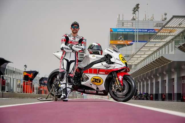 Cal Crutchlow voltou à Yamaha em 2021 para ser piloto de testes