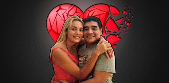 Relacionamento de Rocío e Maradona foi intenso e dramático como um tango