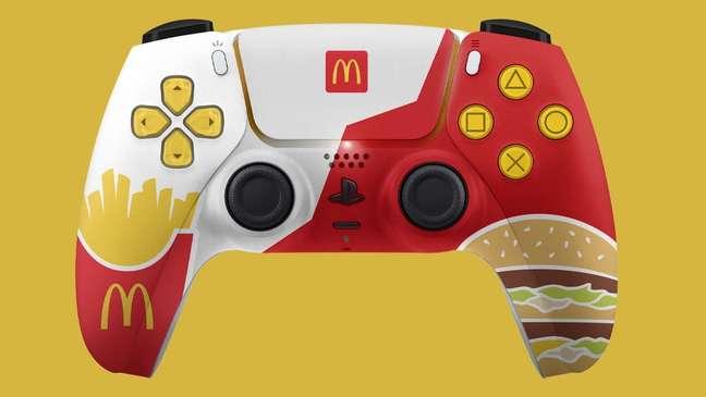 Arte ilustrativa do controle criado pelo McDonald's