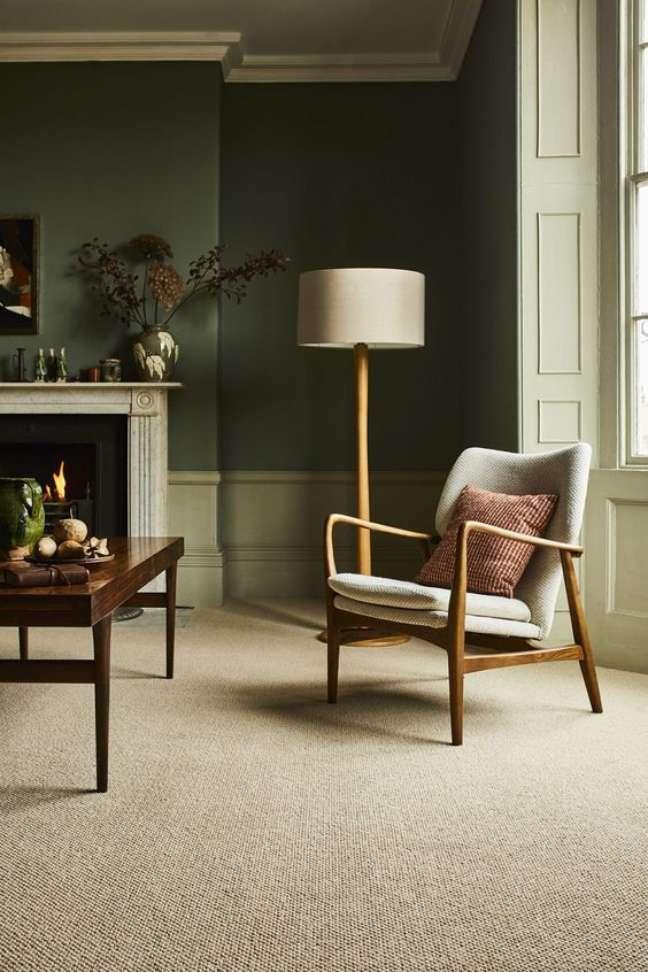 5. Carpete para sala de fibra – Foto The Interior Editor