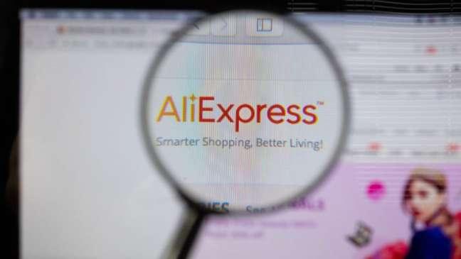 Site do AliExpress