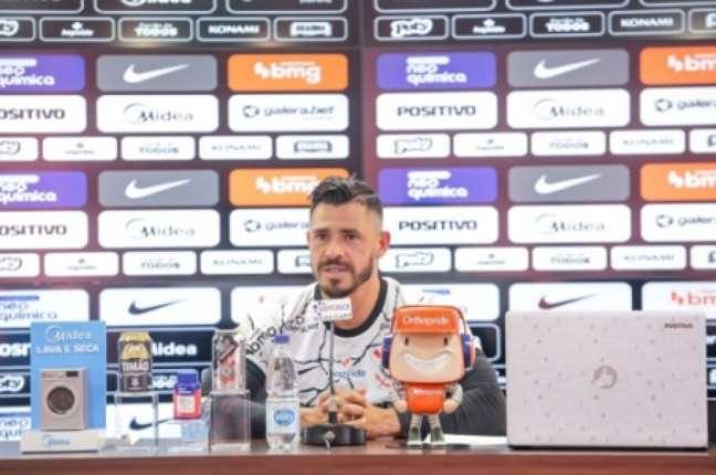 Giuliano seguiu seu coração (Foto: Rodrigo Coca/Ag. Corinthians)