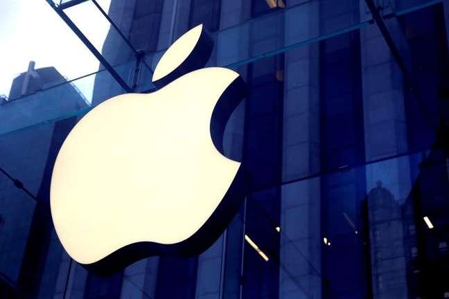 Vista de parte da fachada de lojas da Apple, em Nova York. 16/10/2019. REUTERS/Mike Segar