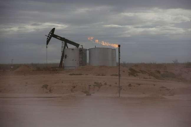 Bombeamento de petróleo no condado de Loving, Texas (EUA)  25/11/2019 REUTERS/Angus Mordan