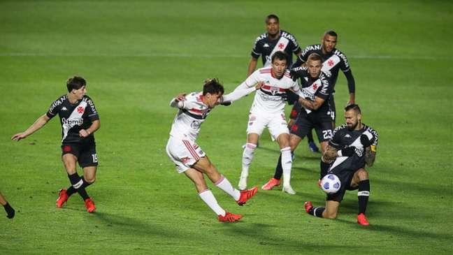 São Paulo venceu o primeiro jogo por 2 a 0 (Foto: Rubens Chiri / São Paulo)