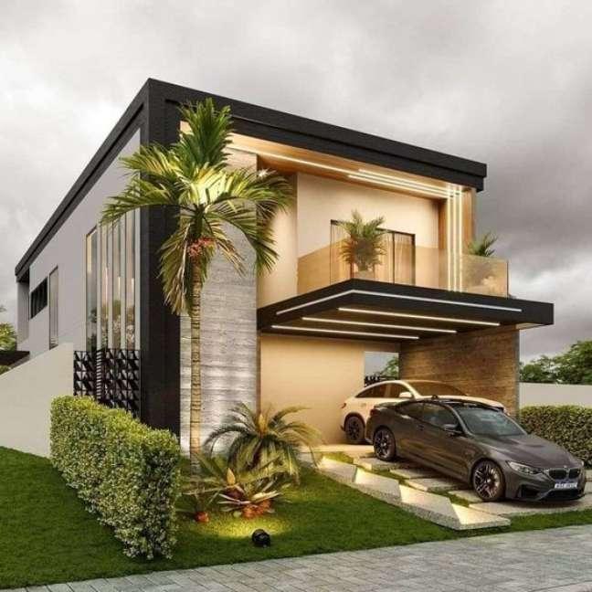 1. Modelos de garagem aberta para casas modernas – Foto Engineering Discoverie