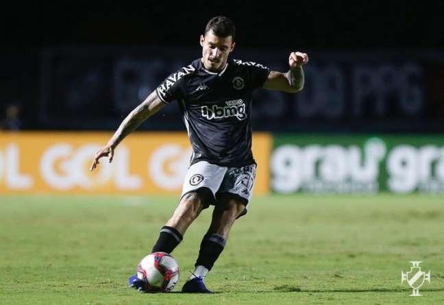 Zeca participou do gol de honra do Vasco em derrota por 2 a 1 contra o São Paulo (Rafael Ribeiro/Vasco)