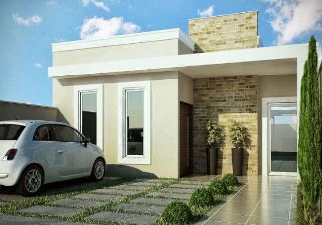 4. Modelos de garagem para casa moderna – Foto Pinterest