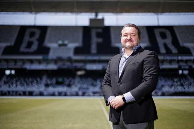 Jorge Braga, CEO do Botafogo, comunicou a decisão em uma nota (Foto: Vítor Silva/Botafogo)