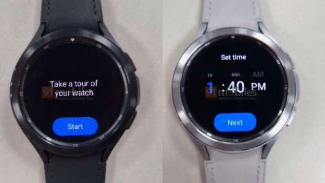 Suposto Samsung Galaxy Watch 4 Classic