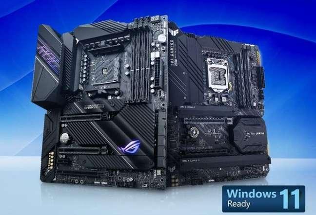 Asus atualiza BIOS de placas-mãe para suporte ao Windows 11
