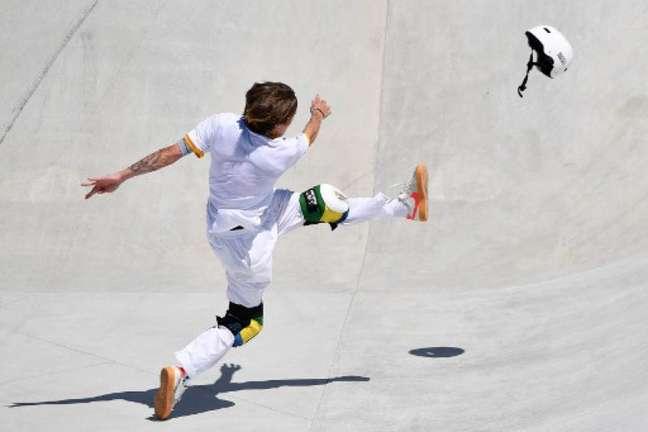 Luizinho perdeu a medalha olímpica por um ponto (LOIC VENANCE / AFP)