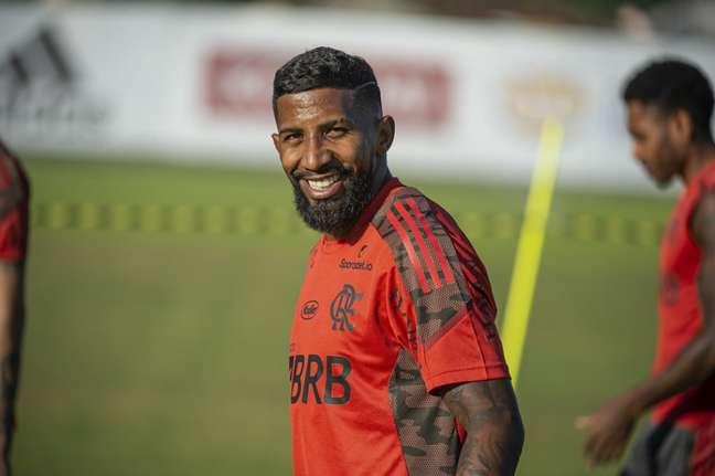 Rodinei será titular como ponta no jogo contra o ABC (Foto: Alexandre Vidal/Flamengo)