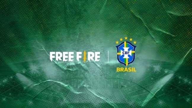 Free Fire fecha parceria com a CBF para patrocinar a Seleção Brasileira de Futebol