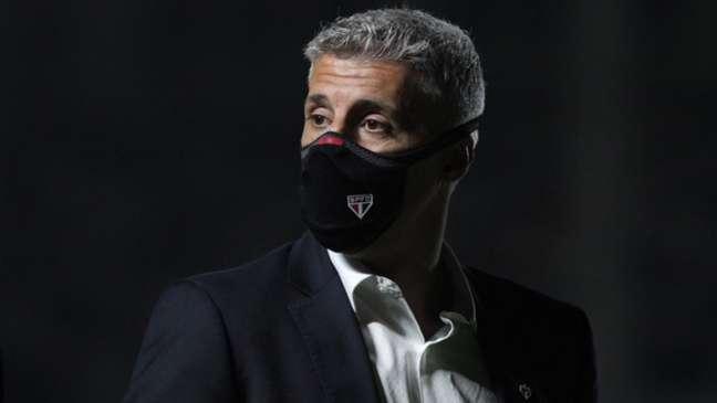 Crespo elogiou o trabalho do São Paulo na temporada (Foto: Rubens Chiri / saopaulofc.net)