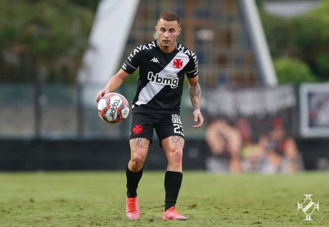Bruno Gomes tem feito bons jogos desde a chegada do técnico Lisca (Foto: Rafael Ribeiro/Vasco)