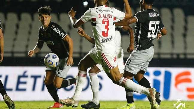 Vasco descontou, mas foi eliminado da Copa do Brasil (Foto: Rafael Ribeiro / Vasco)