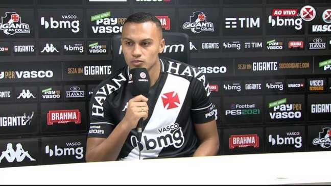 Jabá assumiu a culpa, mas disse que vai continuar de 'cabeça erguida e trabalhar dobrado' (Reprodução/Vasco TV)