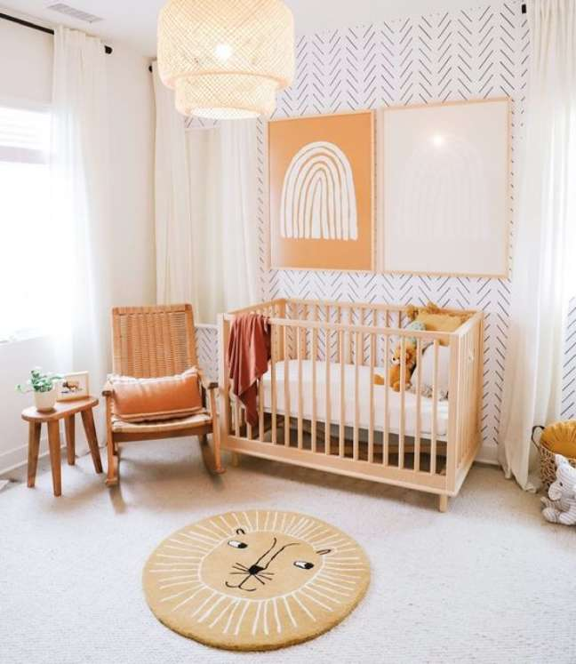 37. Quarto de bebe rustico moderno e minimalista – Foto DilmareDesign