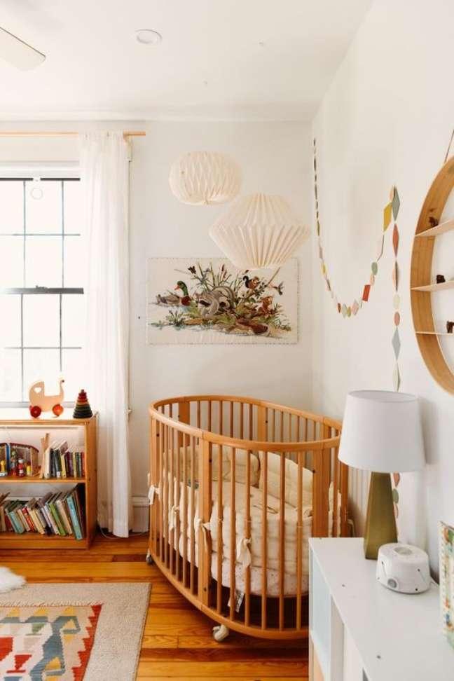 36. Quarto de bebe retro delicado – Foto Deux par Deux