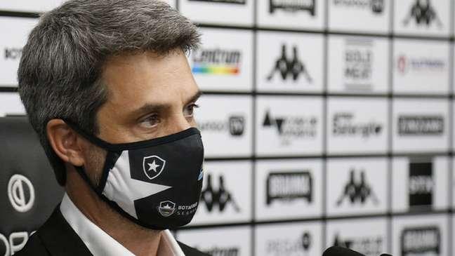 Eduardo Freeland é o diretor de futebol do Botafogo (Foto: Vitor Silva/Botafogo)
