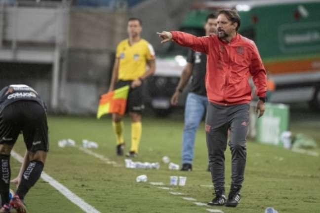Maurício Souza comandou o Fla (Foto: Alexandre Vidal / Flamengo)