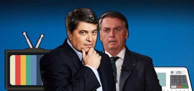 Datena se mostra obstinado a enfrentar Bolsonaro e ser o primeiro apresentador de TV eleito presidente do Brasil