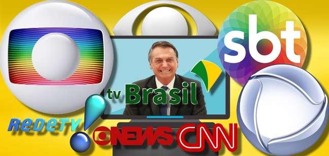 Antes ameaçada, a TV Brasil agora é bem vista pelo presidente Bolsonaro